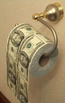 """""""NOT WITH MY MONEY!"""": Reflections on why nobody wants to pay for toilet paper"""